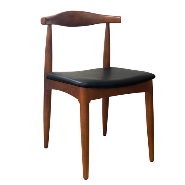 クラシックチェア単品 ウッド 木製 リプロダクト PUレザー ダイニングチェアー 椅子 いす ダイニングチェア 食卓椅子 合皮 北欧 カフェ風 ミッドセンチュリー カントリー ナチュラル おしゃれ