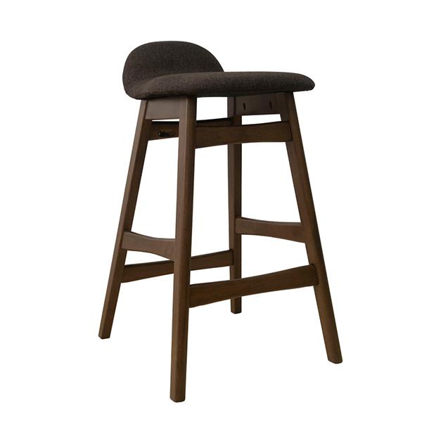 ハイスツール 木製 カウンターチェアー ラバーウッド 北欧 バーチェア イス チェア いす 椅子 カフェ ダイニングチェア ミッドセンチュリー インダストリアル ブルックリン おしゃれ