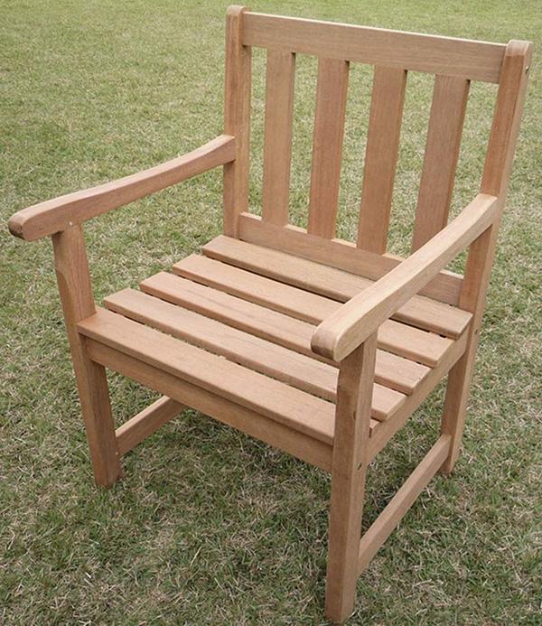 ガーデンチェア 木製 ガーデンチェアー 1人掛け いす 椅子 ひとりがけ チェア テラス カフェ おしゃれ モダン レトロ 高級感