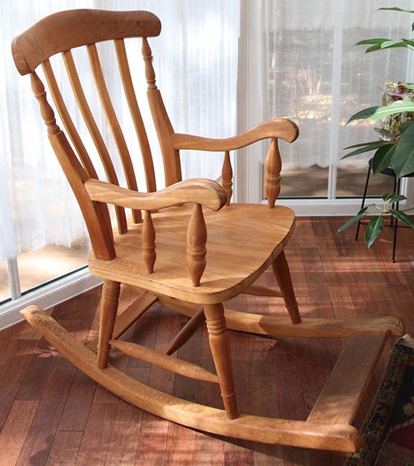 ロッキングチェア 木製 チーク ガーデンチェアー 1人掛け いす 椅子 ひとりがけ チェア テラス カフェ おしゃれ モダン レトロ 高級感