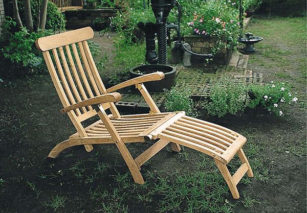 サン・ラウンジチェア 木製 チーク ガーデンチェアー 1人掛け いす 椅子 ひとりがけ チェア テラス カフェ おしゃれ モダン レトロ 高級感