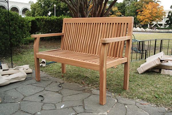 パブリックベンチ 木製 ガーデンチェアー ガーデンベンチ 長椅子 イス チェア チェアー 椅子 おしゃれ アンティーク モダン レトロ