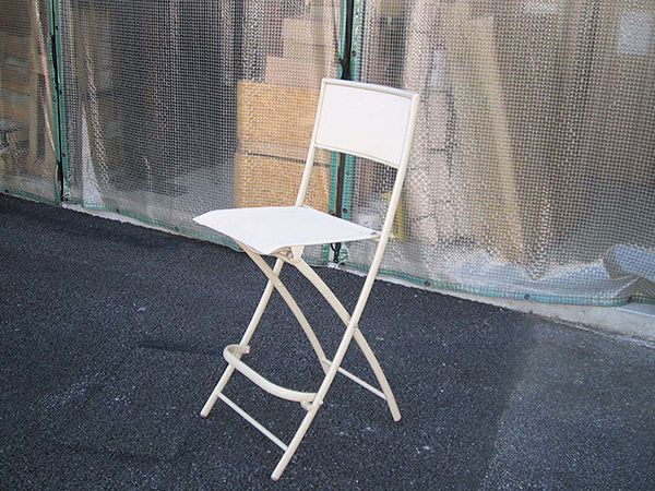 折り畳みハイチェア 4脚セット 折りたたみ ガーデンチェアー 1人掛け いす 椅子 ひとりがけ チェア テラス カフェ おしゃれ モダン レトロ 高級感