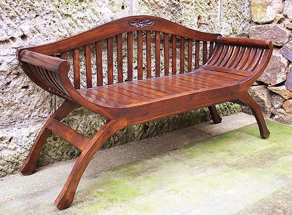 背もたれ付ユーユラブチェア ベンチ 木製 ダイニングチェアー カフェ 食卓椅子 いす イス リビング おしゃれ モダン レトロ アンティーク