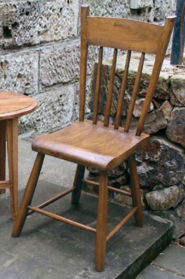 ニューウエスタンチェア 木製 ダイニングチェアー カフェ 食卓椅子 いす イス リビング おしゃれ モダン レトロ アンティーク