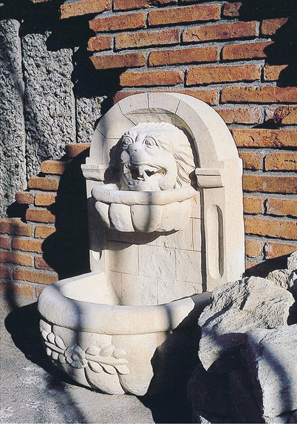 壁泉 ライオン1型 ガーデニング雑貨 ガーデン エクステリア