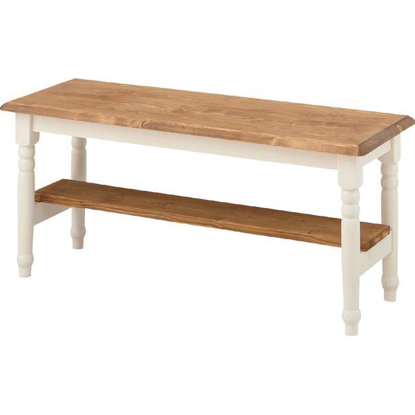 完成品 ダイニングベンチ 幅100cm 2人掛け 食卓椅子 チェアー チェア ダイニングチェアー イス 椅子 木製 二人掛け 2人掛け ベンチチェア 北欧 おしゃれ アンティーク フレンチカントリー