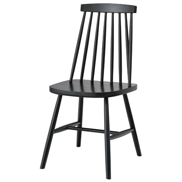 ダイニングチェア 木製 天然木 ビーチ 食卓チェアー 食卓椅子 いす イス 椅子 ダイニングチェアー レトロ モダン 北欧 ブルックリン 西海岸 男前 インテリア おしゃれ アンティーク カントリー かわいい ブラック