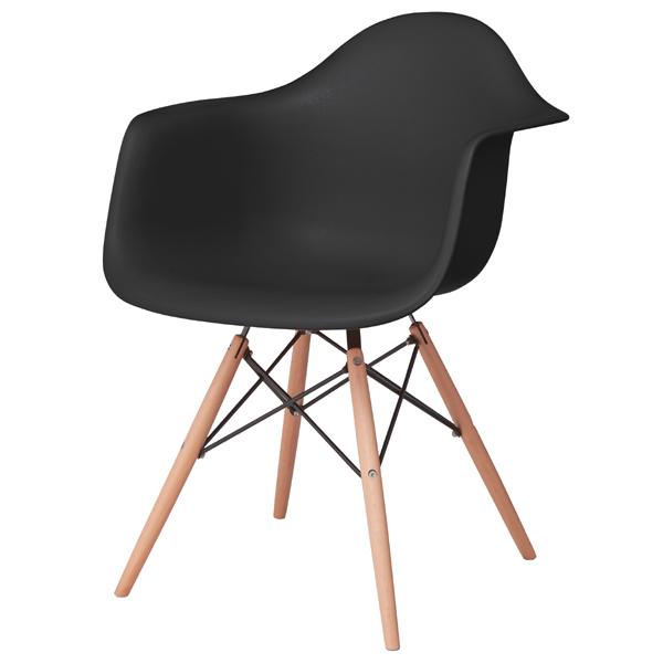 ダイニングチェア 天然木 スチール 食卓チェアー 食卓椅子 いす イス 椅子 ダイニングチェアー レトロ モダン 北欧 ブルックリン 西海岸 男前 インテリア おしゃれ アンティーク カントリー かわいい ブラック