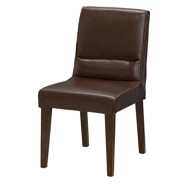ダイニングチェア 天然木 レザー 食卓チェアー 食卓椅子 いす イス 椅子 ダイニングチェアー レトロ モダン 北欧 ブルックリン 西海岸 男前 インテリア おしゃれ アンティーク カントリー かわいい 高級感 ブラウン