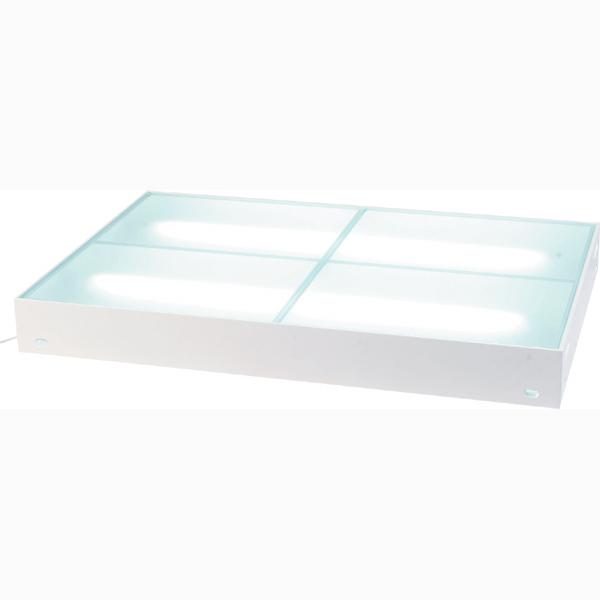 ディスプレイステージ ガラスステージ 幅140×奥行90cm