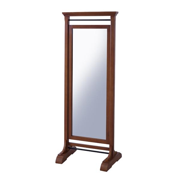 スタンドミラー 木製 姿見 全身 アンティーク ミラー 鏡 全身鏡 かがみ カガミ モダン 美容院 店舗 カフェ サロン レトロ モダン ブルックリン 西海岸 おしゃれ