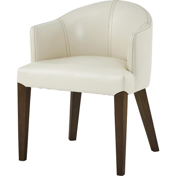 ダイニングチェア ローバック レザー 天然木 木製 食卓チェアー 食卓椅子 いす イス 椅子 ダイニングチェアー レトロ モダン 北欧 ブルックリン 西海岸 男前 インテリア おしゃれ アンティーク カントリー かわいい 高級感 アイボリー