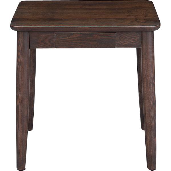 サイドテーブル 幅50cm 木製 引き出し 収納付き スリム コンパクト ナイトテーブル ベッドサイドテーブル ソファーサイドテーブル レトロ モダン 北欧 ブルックリン 西海岸 男前 インテリア おしゃれ アンティーク ブラウン