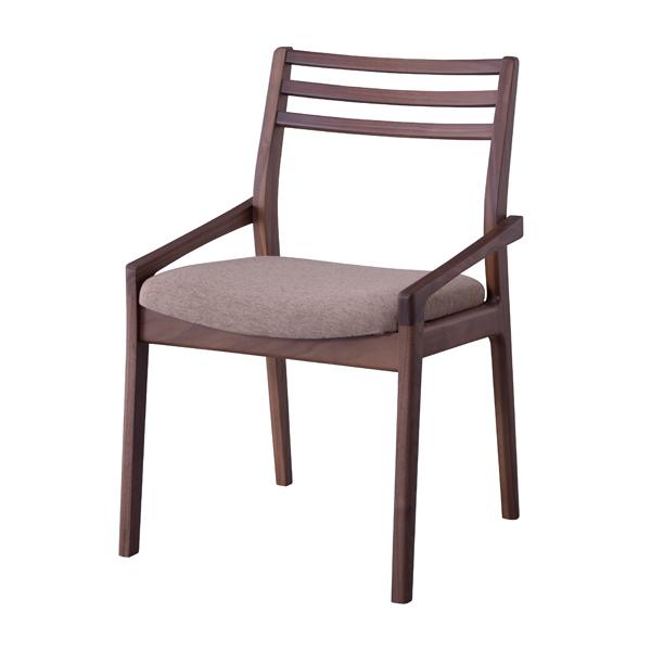 日本製 ダイニングチェア 肘付き 肘掛け付き 食卓チェアー 食卓椅子 いす イス 椅子 ダイニングチェアー ファブリック レトロ モダン 北欧 ブルックリン 西海岸 男前 インテリア おしゃれ アンティーク カントリー かわいい 高級感 ウォルナット