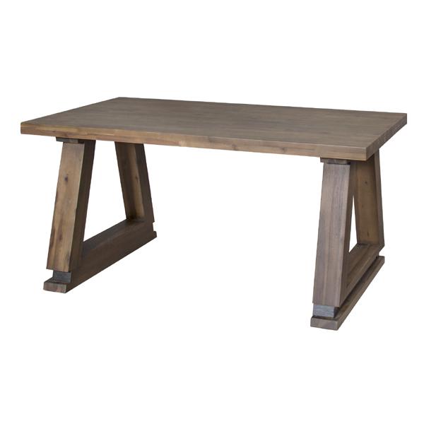 ダイニング テーブル 単品 シンプル ダイニングテーブル 天然木 アカシア 木製 おしゃれ 机 つくえ 食卓机 作業台 食卓テーブル リビングテーブル 4人用 4人掛け テーブル 幅150cm 西海岸 モダン 北欧 ナチュラル