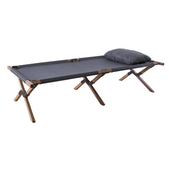 フォールディングベッド 折りたたみベッド アウトドア キャンプ レジャー 折り畳み コンパクト 軽量 野外 簡易ベッド ベット おしゃれ