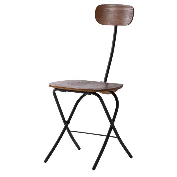 折りたたみチェアー 折り畳みチェア フォールディングチェア チェア チェアー 椅子 イス 折りたたみ コンパクト スチール レトロ モダン 北欧 ブルックリン 西海岸 男前 インテリア おしゃれ ブラック