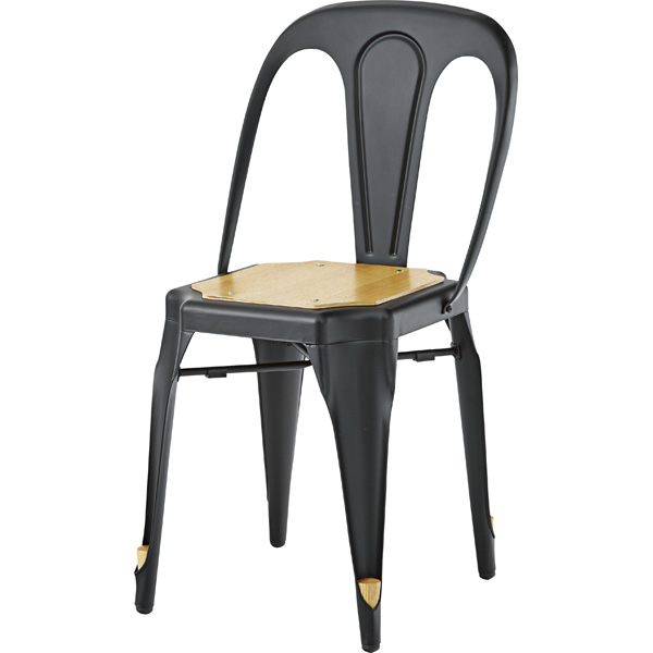 スタッキングチェア ダイニングチェア スチール 食卓チェアー 食卓椅子 いす イス 椅子 ダイニングチェアー レトロ モダン 北欧 ブルックリン 西海岸 男前 インテリア おしゃれ シンプル アンティーク 高級感 ブラック