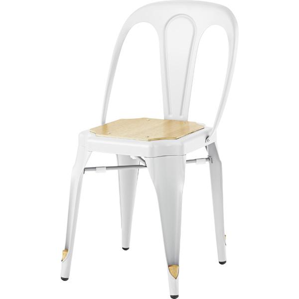 スタッキングチェア ダイニングチェア スチール 食卓チェアー 食卓椅子 いす イス 椅子 ダイニングチェアー レトロ モダン 北欧 ブルックリン 西海岸 男前 インテリア おしゃれ シンプル アンティーク 高級感 ホワイト