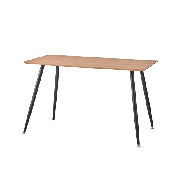 ダイニングテーブル 単品 4人用 4人掛け テーブル 幅120cm スチール 北欧 シンプル ダイニング テーブル 天然木 木目 木製 おしゃれ 机 つくえ 食卓机 作業台 食卓テーブル リビングテーブル 西海岸 モダン ナチュラル