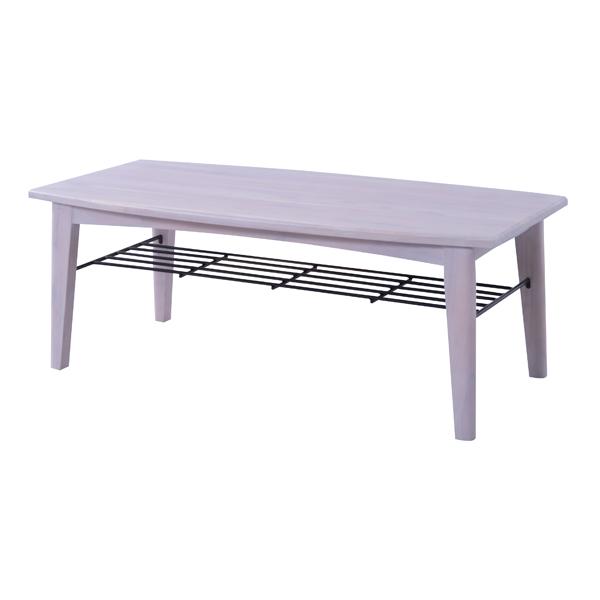完成品 コーヒーテーブル カフェテーブル 幅110cm 木製 アイアン 棚付き 木目 ローテーブル センターテーブル リビングテーブル 座卓 おしゃれ 北欧 モダン レトロ 一人暮らし ホワイト