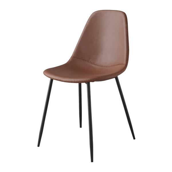ダイニングチェア 食卓チェア スチール レザー カフェチェアー 食卓椅子 いす イス 椅子 ダイニングチェアー レトロ モダン 北欧 ブルックリン 西海岸 男前 インテリア おしゃれ シンプル アンティーク 姫系 カントリー かわいい 高級感 ブラウン