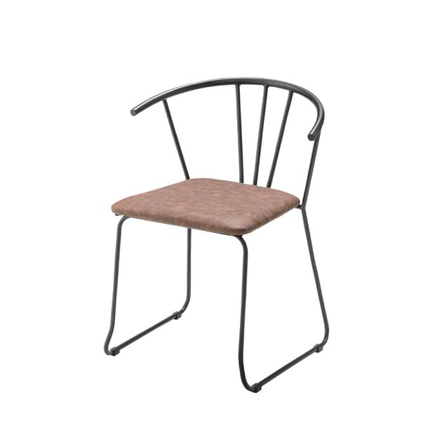 ダイニングチェアー カフェチェア 食卓チェアー スチール レザー 食卓椅子 いす イス 椅子 ダイニングチェア レトロ モダン 北欧 ブルックリン 西海岸 男前 インテリア おしゃれ シンプル アンティーク 姫系 カントリー かわいい 高級感