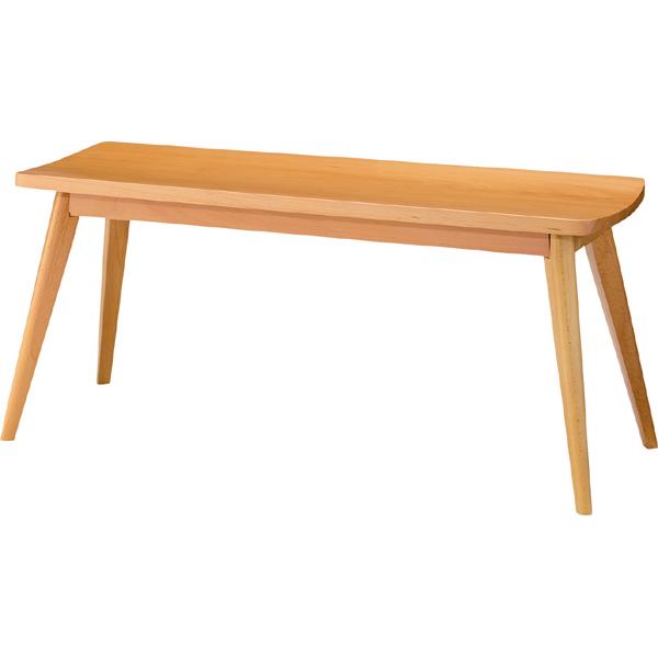 ダイニングベンチ 木目 幅105cm 2人掛け 食卓椅子 チェアー チェア ダイニングチェアー イス 椅子 木製 二人掛け 2人掛け ベンチチェア 北欧 おしゃれ カジュアル 西海岸ブルックリン