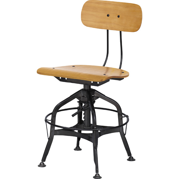 ダイニングチェアー カフェチェア スチール 昇降式 高さ調節 食卓チェアー 食卓椅子 いす イス 椅子 ダイニングチェア レトロ モダン 北欧 ブルックリン 西海岸 男前 インテリア おしゃれ シンプル アンティーク 姫系 カントリー かわいい 高級感 ナチュラル