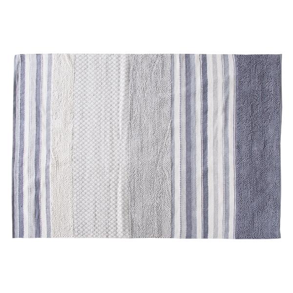 ラグマット 190x130cm コットン 綿 フロアマット グラデーション 柄 ラグ マット デザインラグ カーペット じゅうたん 絨毯 センターラグ リビングラグ シンプル おしゃれ 北欧 高級感