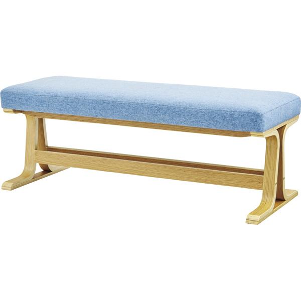 ダイニングベンチ 幅105cm 2人掛け 食卓椅子 チェアー チェア ダイニングチェアー イス 椅子 木製 木目 二人掛け 2人掛け ベンチチェア 北欧 おしゃれ カジュアル 西海岸ブルックリン