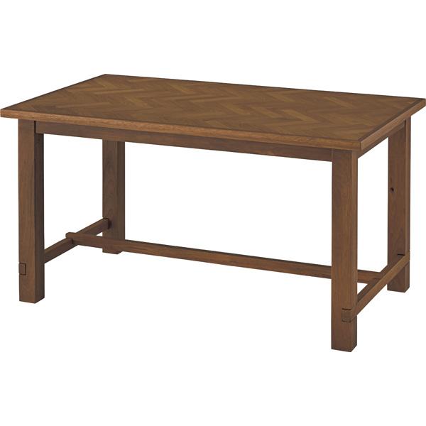 ダイニングテーブル 単品 幅150cm 4人用 4人掛け 天然木 木製 木目 北欧 シンプル ダイニング テーブル おしゃれ 机 つくえ 食卓机 作業台 食卓テーブル リビングテーブル 西海岸 モダン ブラウン