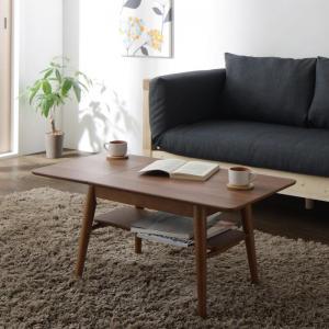 サイドテーブル [テーブル単品 北欧天然木すのこソファベッドシリーズ Exii エグジー]