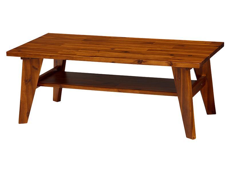 センタ―テーブル [センタ―テーブル W100単品 無垢材リビング家具シリーズ Alberta アルベルタ]