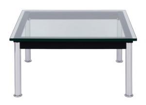 送料無料 ル・コルビジェ LC10 70 デザイナーズリプロダクト テーブル単品 幅70 リビングテーブル 応接テーブル センターテーブル ローテーブル リビングテーブル 040101133
