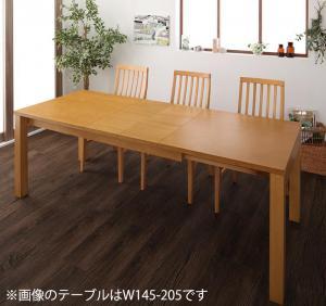 ダイニングテーブル単品 伸縮 幅120-180 3段階伸縮ハイバックチェアダイニング Costa コスタ 食卓テーブル