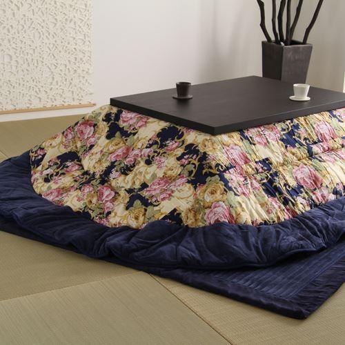 楕円形こたつ布団 220×285cm こたつテーブル 炬燵 センターテーブル ちゃぶ台 木製