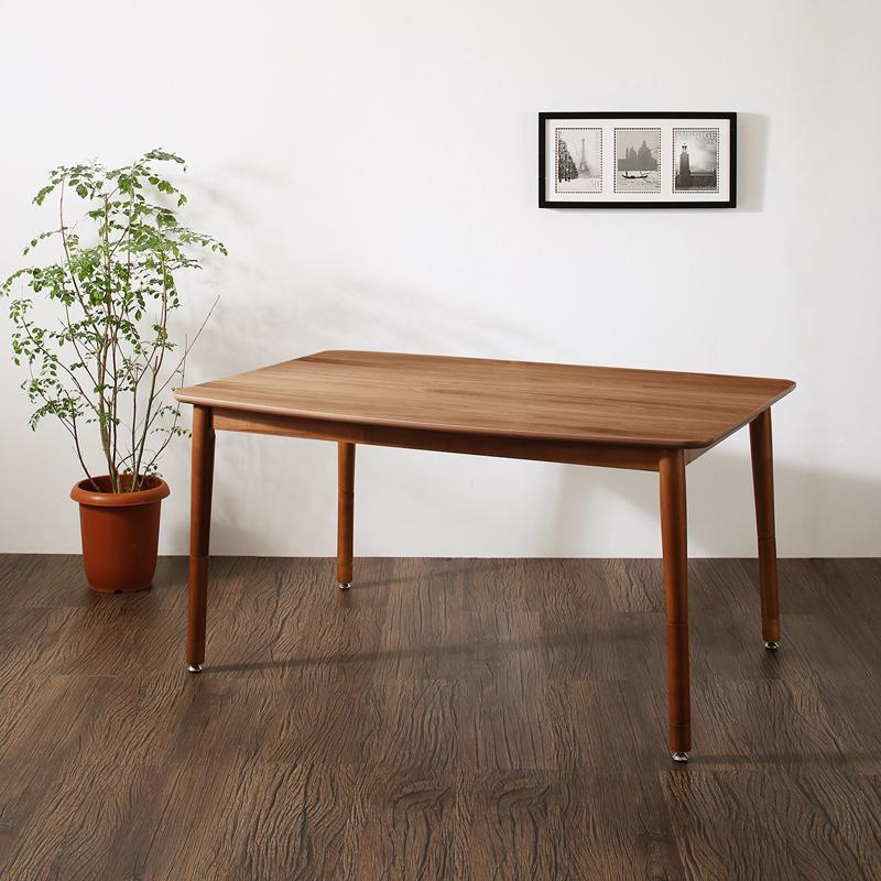 ダイニングテーブル 幅120 [ダイニングこたつテーブル 4尺長方形(80×120cm)単品 こたつもソファ リビングダイニングシリーズ Rozel ロゼル]