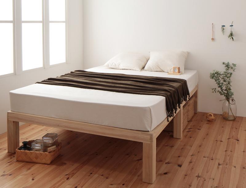 送料無料 すのこベッド シングル 総桐ヘッドレス fiume フィウーメ 省スペース シングルベッド 040109994
