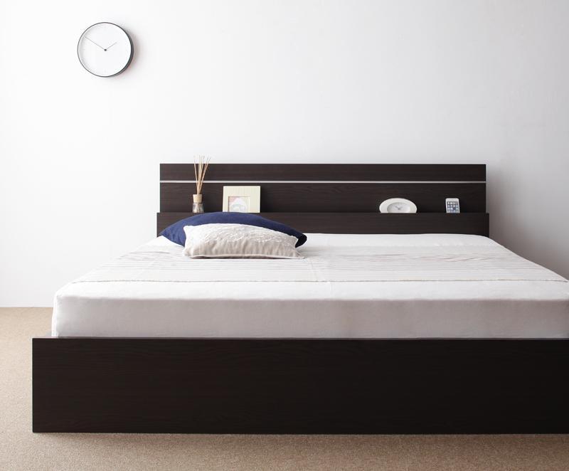 送料無料 日本製 フットライト付き 連結ベッド シングル JointEase ジョイント・イース 日本製ボンネルコイルマットレス付き 照明付き ダークブラウン ホワイト シングルベッド マット付き 親子ベッド 040113852