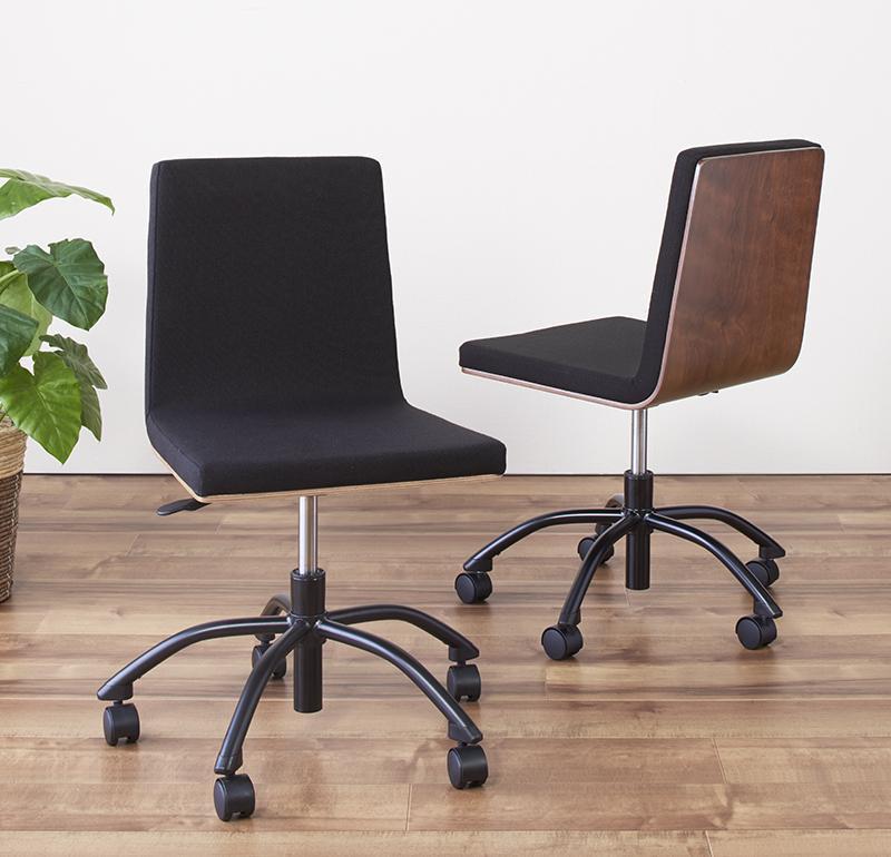 送料無料 選べる組み合わせ 異素材デザインシステムデスク Ebel エーベル チェア デスクチェア 学習椅子 オフィスチェア ワークチェア 040500361