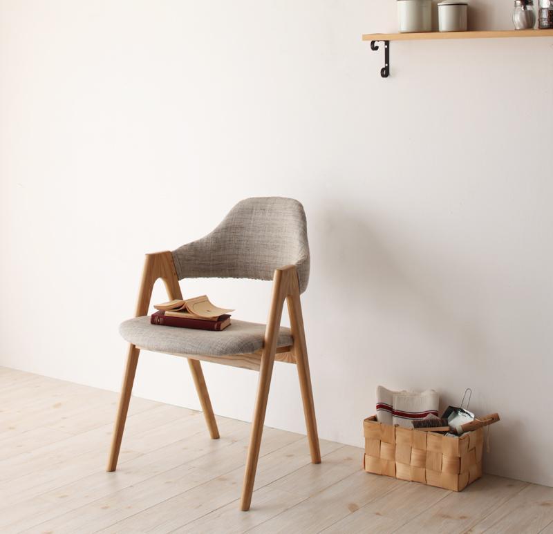 送料無料 天然木タモ無垢材ダイニング Ma maison マ・メゾン チェア(2脚組) 食卓イス ダイニングチェアー 食卓椅子 040600148