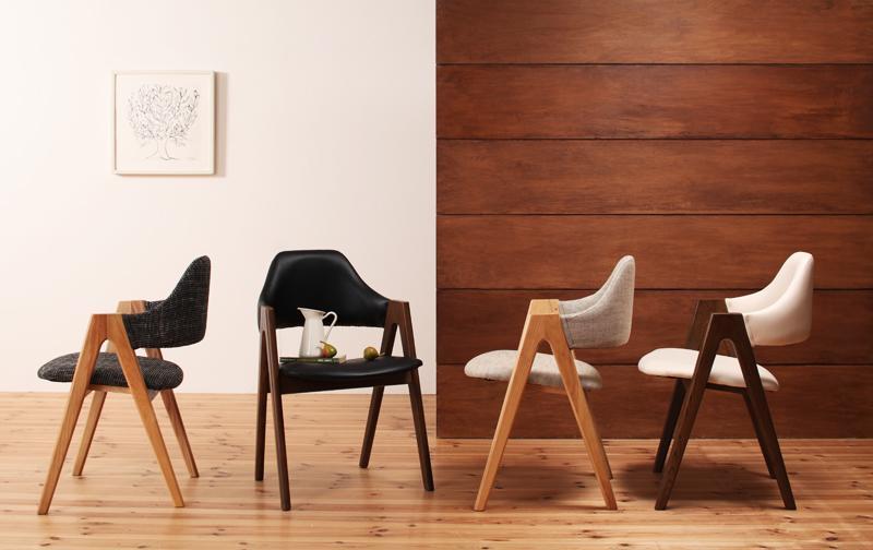 送料無料 北欧デザインダイニング MARKEY マーキー チェア(二脚組) 食卓イス ダイニングチェアー 食卓椅子 040600352