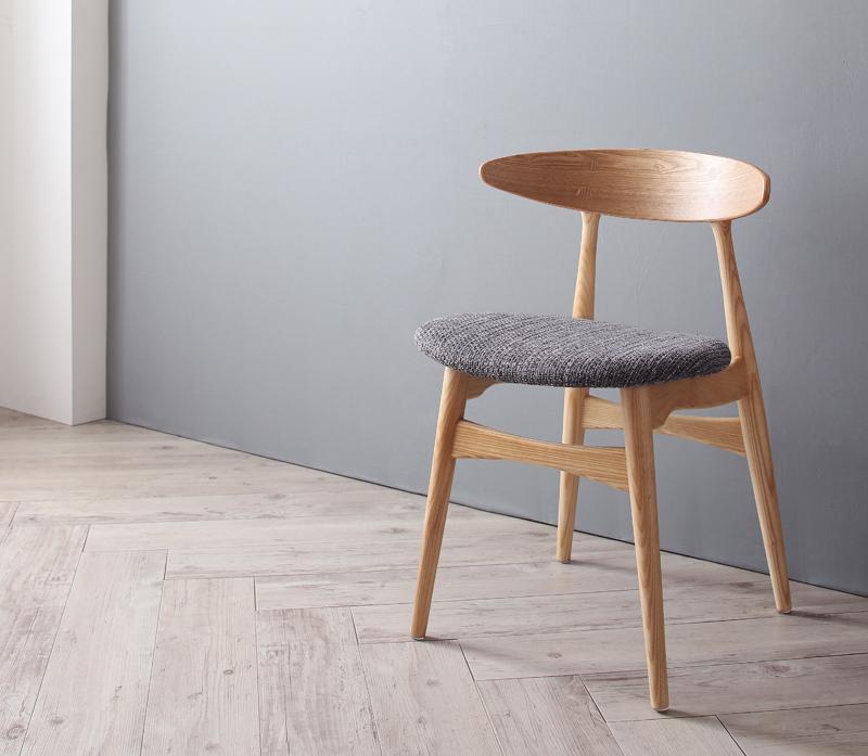 送料無料 北欧デザイナーズダイニング Cornell コーネル チェアA(CH33・1脚) 食卓イス ダイニングチェアー 食卓椅子 040600504