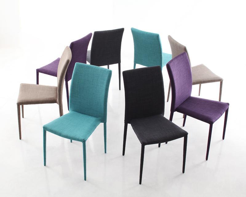 送料無料 ハイグレードガラスダイニング Placidez プラシデス チェア単品(4脚) 食卓イス ダイニングチェアー 食卓椅子 040600564