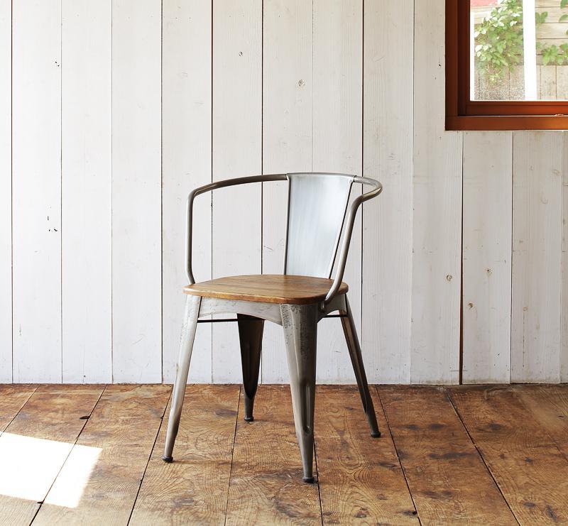 ヴィンテージデザインダイニング家具シリーズ リコルド ラウンドフレームチェア(2脚組) 食卓イス ダイニングチェアー 食卓椅子 040600752