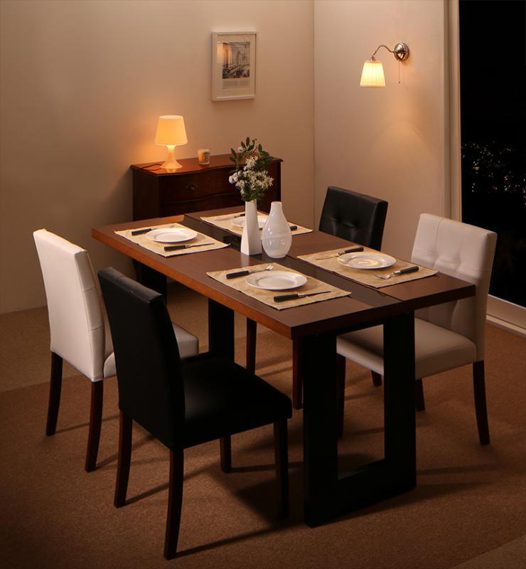 送料無料 ホテルスタイル レザー ダイニング Le Hyatt ル・ハイアット ダイニングテーブル単品 幅150 食卓テーブル 500023740