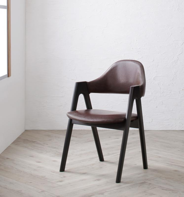 送料無料 北欧ヴィンテージ ブルックリンスタイル バイカラーダイニング BRUCK ブルク チェア(2脚組) 食卓イス ダイニングチェアー 食卓椅子 040601316