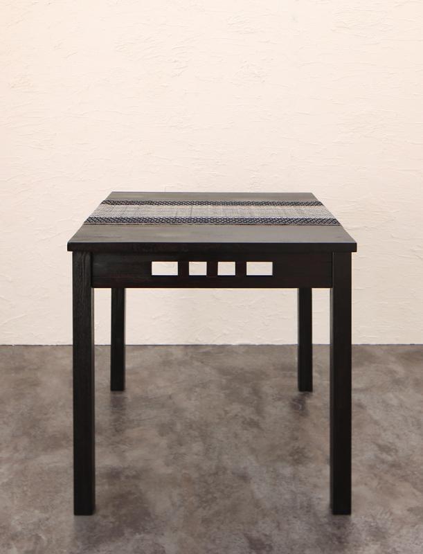 送料無料 アジアンモダンダイニングセット Aperm アパーム ダイニングテーブル W76 テーブル単品 食卓テーブル 500028087